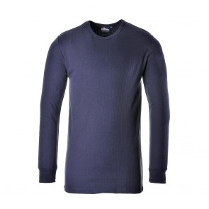 Thermal T-Shirt Long Sleeve - Navy