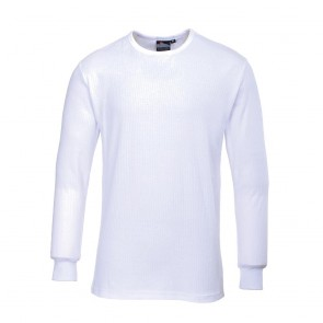 Thermal T-Shirt Long Sleeve - White