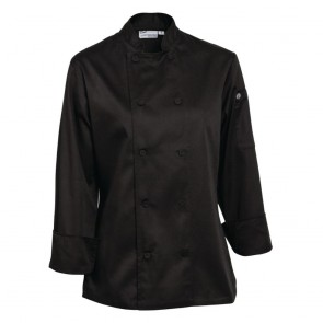 Marbella Ladies Executive Chef Jacket - Black