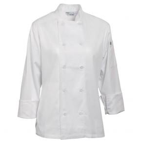 Marbella Ladies Executive Chef Jacket - White