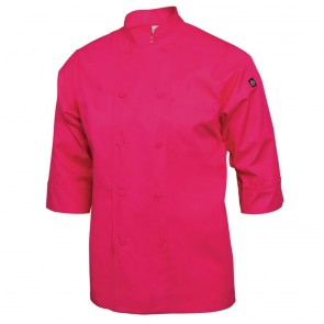 Colour by Chef Works 3/4 Sleeve Jacket - Berry