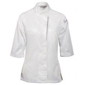 Cool Vent Verona Ladies Chefs Coat - White