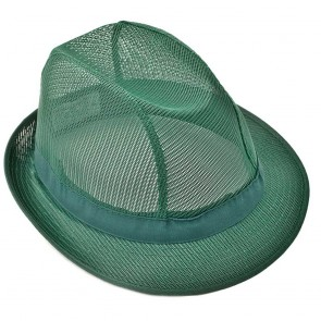 Coloured Trilby in Green