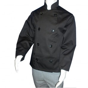 Kids Chef Jacket (Black)