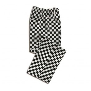 Chef's Trousers - Large Black Checks