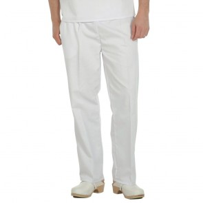 Food Trade Hygiene Trousers - White