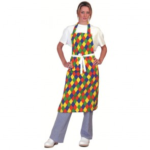 Harlequin Full Length Apron