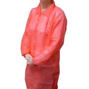 Non-Woven Coat - Red