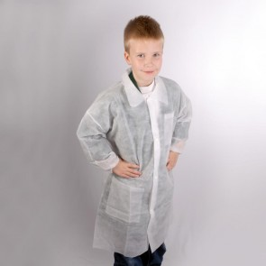 Kids Disposable Coat - Age 10-11 (XS) One Only