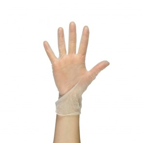 PAL Vinyl Gloves (Powdered) - White