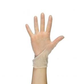 PAL Vinyl Gloves (Powdered) - White (Medium)
