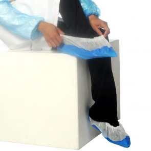 Deluxe Disposable Overshoes - Pack of 50 (25 Pairs)