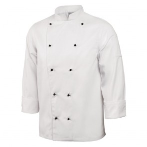 Chicago Chefs Jacket (Long Sleeve) - White