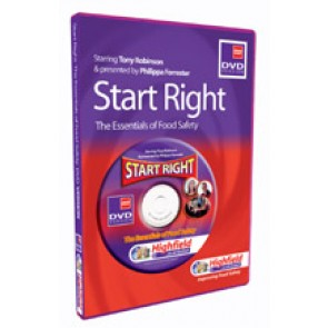 Start Right - the essentials of food safety DVD (12 mins)