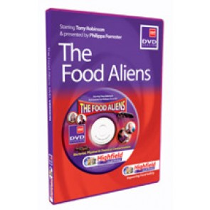 The Food Aliens DVD (16 mins)