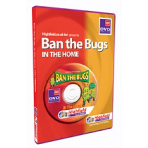Ban the Bugs In the Home DVD (18 mins)