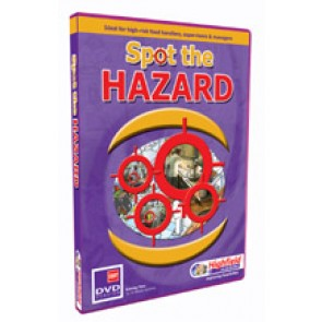 Spot the Hazard DVD (2 x 14 mins modules)