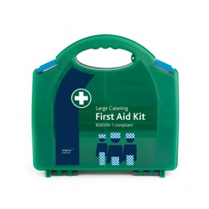 Workplace Catering First Aid Kits - BS8599-1 Compliant - Large