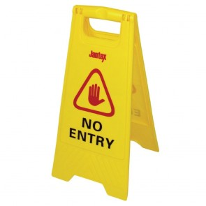 Floor Safety Sign - No Entry