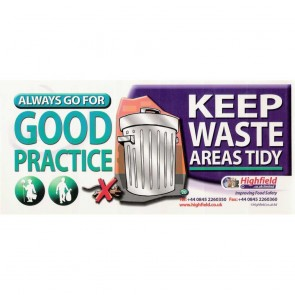 Keep Waste Areas Tidy