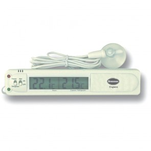 Ice Box Digital Fridge / Freezer Thermometer with Alarm