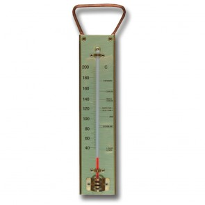 Brannan Brass Sugar Thermometer for Toffee and Jam Making