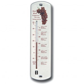 Red Wine Wall Thermometer