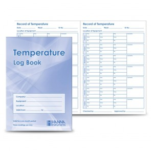 Hanna Temperature Log Book