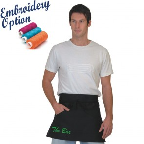 Embroidered Bar Aprons