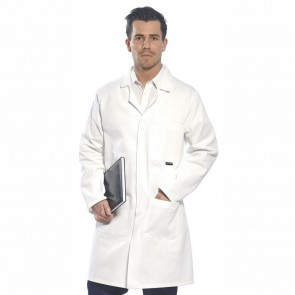 100% Cotton Lab Coat