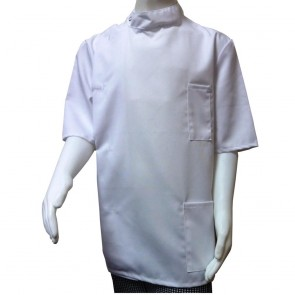 "Children's Short-Sleeved Tunic - White - 72cm (28"") End of Line"