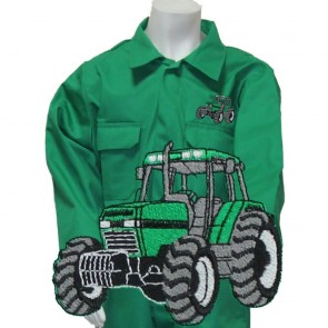 """Clearance Kids """"Tractor Logo"""" Coveralls (Size 28"""" chest) - Brand New - One only"""