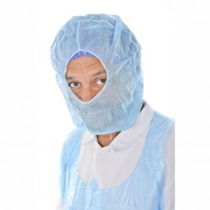 Non Woven Disposable Balaclava (Blue) - Pack of 100