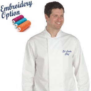 Embroidered Traditional Chef's Jackets
