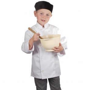 Kids Chef Jacket (White)