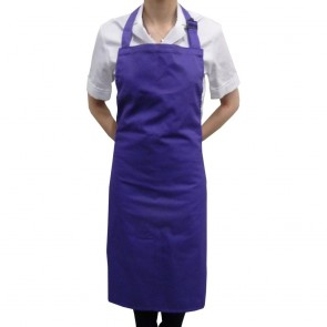 Purple Full Length Bib Apron