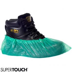 Disposable Overshoes (Green) - Pack of 100 (50 Pairs) - Extra Large