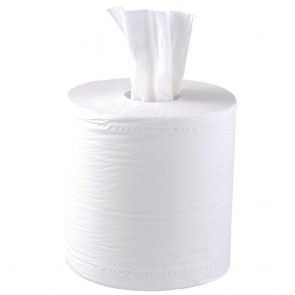 Jantex Centrefeed White Roll 2ply 125m (6 Pack)