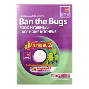 Ban the Bugs - in Carework Kitchens DVD (20 mins)