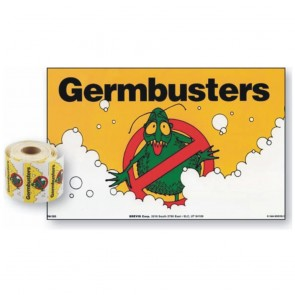 Pack of 50 Germbusters v2 Stickers