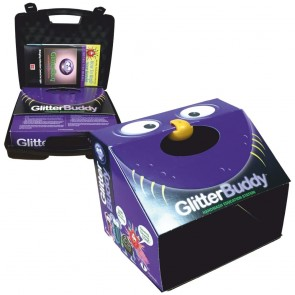 GlitterBuddy Foldable Disclosure Center with UV Lamp