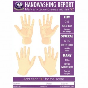 Hand Washing Report Card