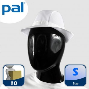 Case of PAL White Trilbies - Small (Qty: 10)