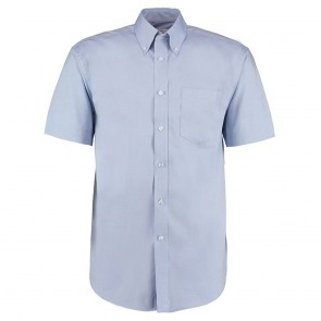 """Clearance Blue Corporate Oxford shirt short sleeved - New - (Size 16"""")"""