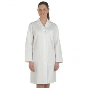 Ladies White Lab Coat