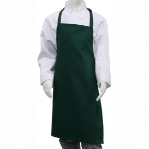 Junior Bib Apron (Bottle Green) - One Only