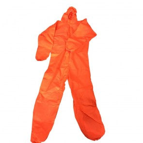 3M Orange Coverall (S) - One only slightly shopsoiled