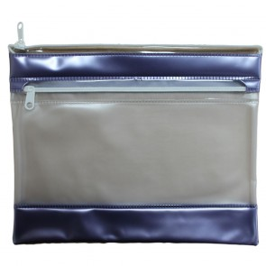 PVC Pencil Case Lilac (Pack of 2)