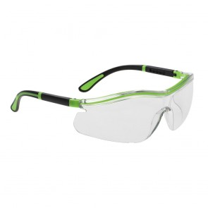 Neon Safety Spectacle Clear
