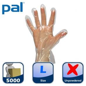 Case of PAL Polythene Gloves - Large (50 x 100)